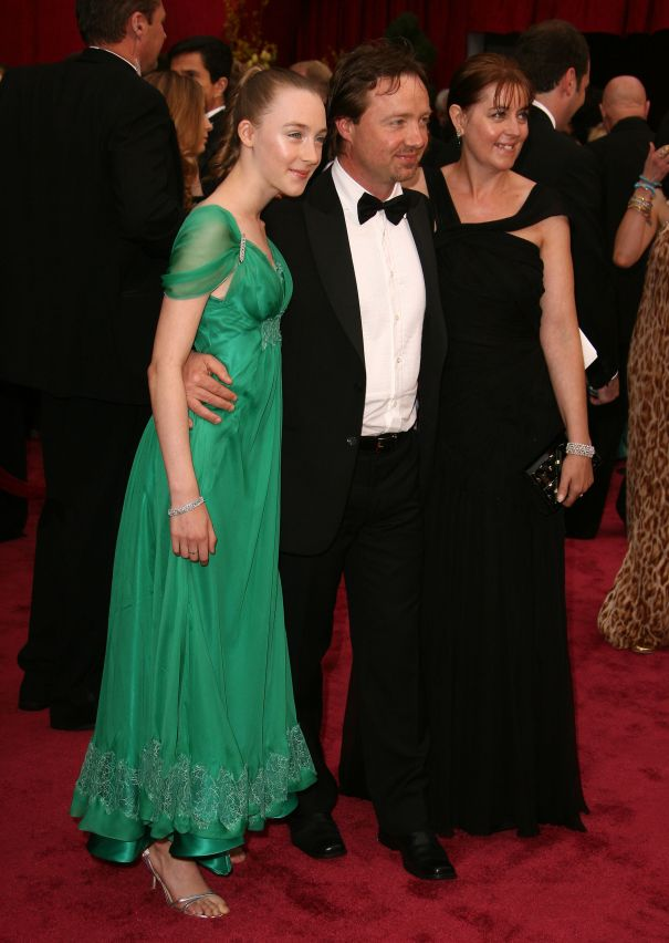 Saoirse Ronan And Parents