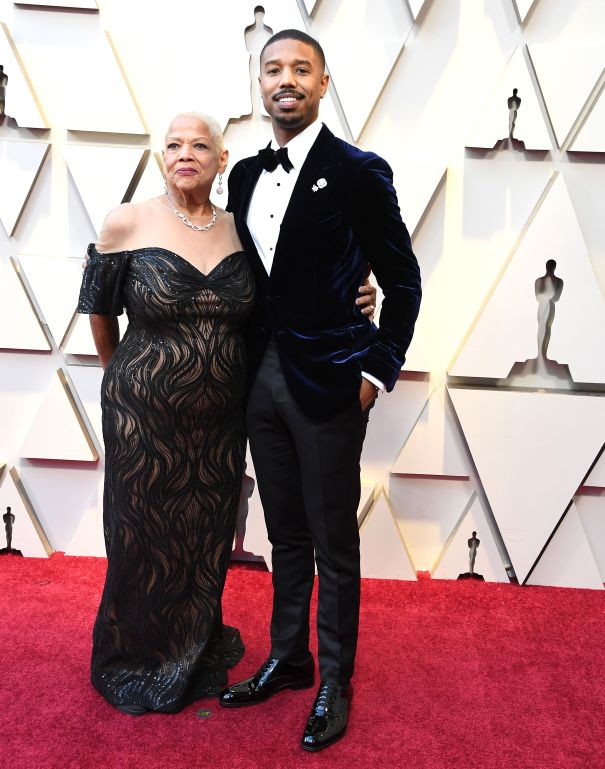 Michael B. Jordan And Donna Jordan