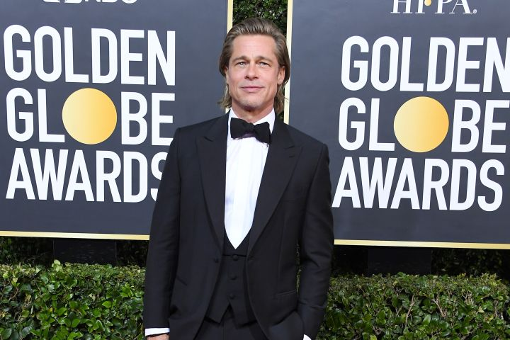 BEVERLY HILLS, CALIFORNIA - JANUARY 05: Brad Pitt arrives at the 77th Annual Golden Globe Awards attends the 77th Annual Golden Globe Awards at The Beverly Hilton Hotel on January 05, 2020 in Beverly Hills, California. (Photo by Steve Granitz/WireImage)
