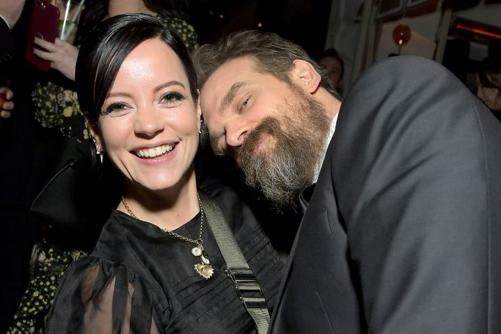 Lily Allen, David Harbour. Photo: Getty Images