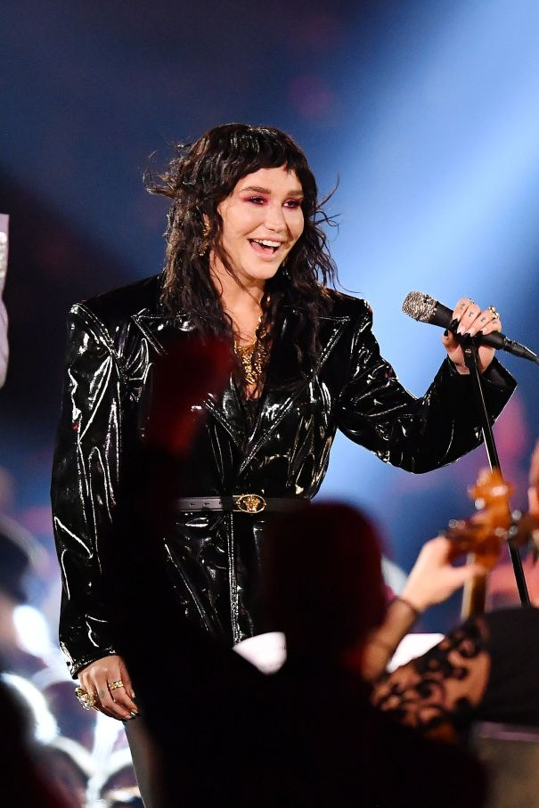 Kesha Performs At Musicares Person Of The Year Gala