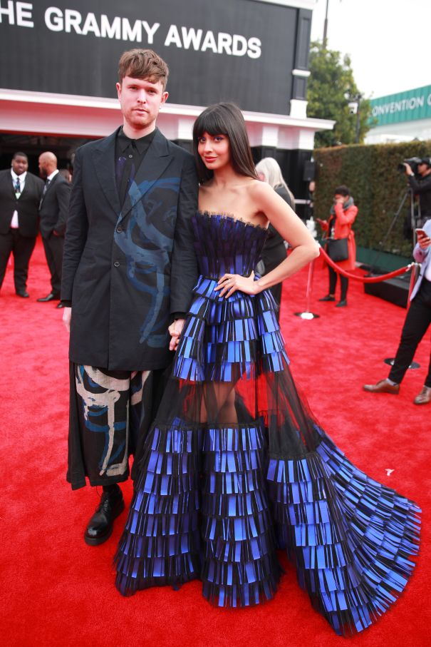 Jameela Jamil & James Blake