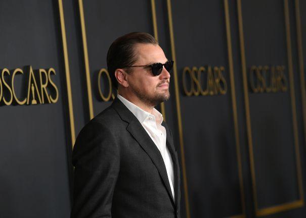 Leonardo DiCaprio Suits Up