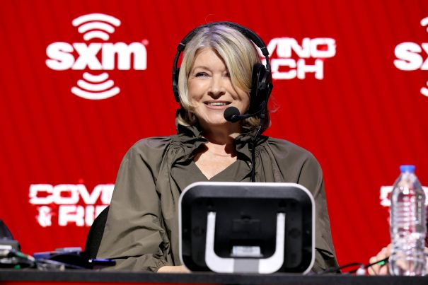 Martha Stewart Talks Super Bowl