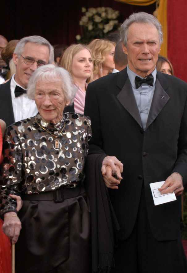 Ruth Wood And Clint Eastwood