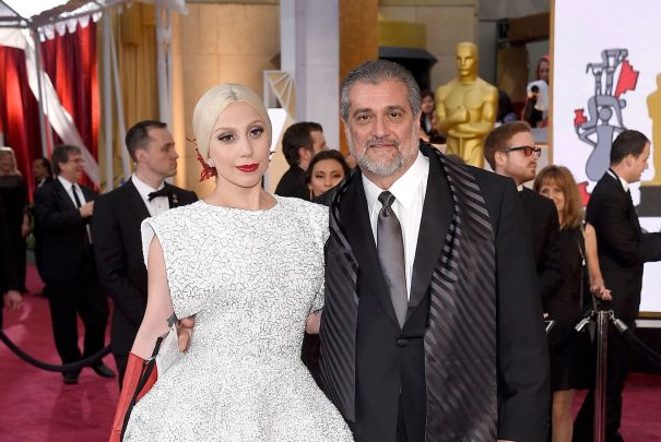 Lady Gaga And Joseph Germanotta
