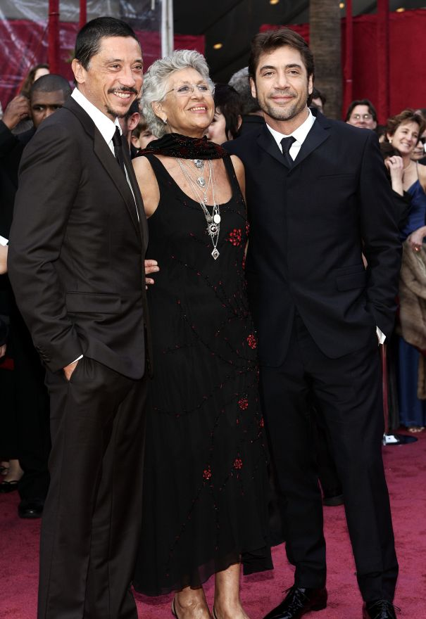 Carlos, Pilar And Javier Bardem