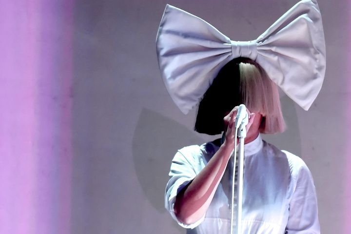Sia. Photo by Kevin Winter/Getty Images