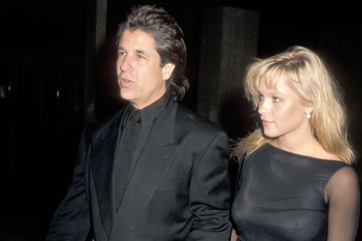 Pamela Anderson and Jon Peters pictured together at 1989.  Photo: Jim Smeal/Ron Galella Collection via Getty Images