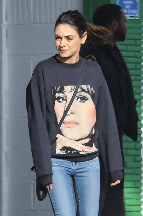 Mila Kunis Loves Barbra Streisand