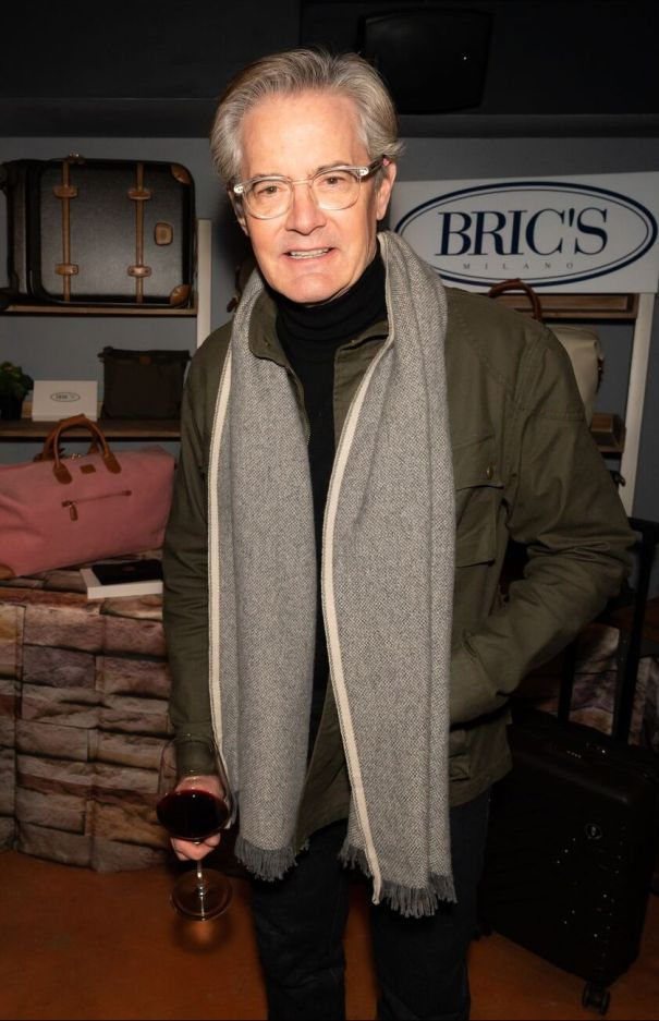 Kyle MacLachlan Wines And Dines