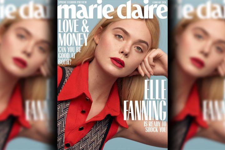 Elle Fanning. Photo: Thomas Whiteside/Marie Claire