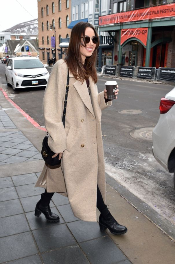 Aubrey Plaza Steps Out In Park City