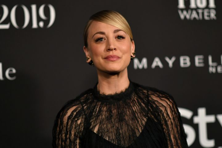 Mandatory Credit: Photo by Rob Latour/Shutterstock (10451002h) Kaley Cuoco 5th Annual InStyle Awards, Arrivals, The Getty Museum, Los Angeles, USA - 21 Oct 2019