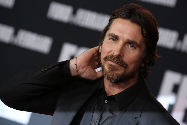 Mandatory Credit: Photo by Matt Baron/Shutterstock (10465665bq) Christian Bale 'Ford v Ferrari' film premiere, Arrivals, TCL Chinese Theatre, Los Angeles, USA - 04 Nov 2019