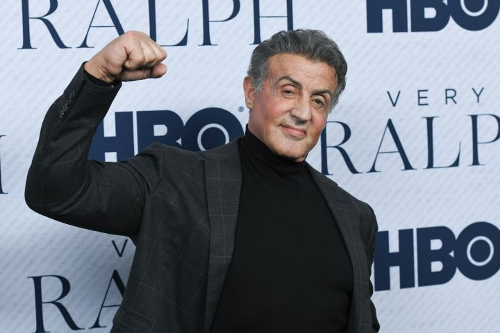 Mandatory Credit: Photo by MediaPunch/Shutterstock (10473060bm) Sylvester Stallone 'Very Ralph' film premiere, Arrivals, The Paley Center for Media, Los Angeles, USA - 11 Nov 2019