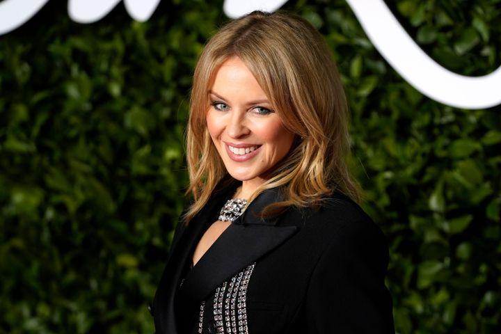 Kylie Minogue. Photo: WILL OLIVER/EPA-EFE/Shutterstock