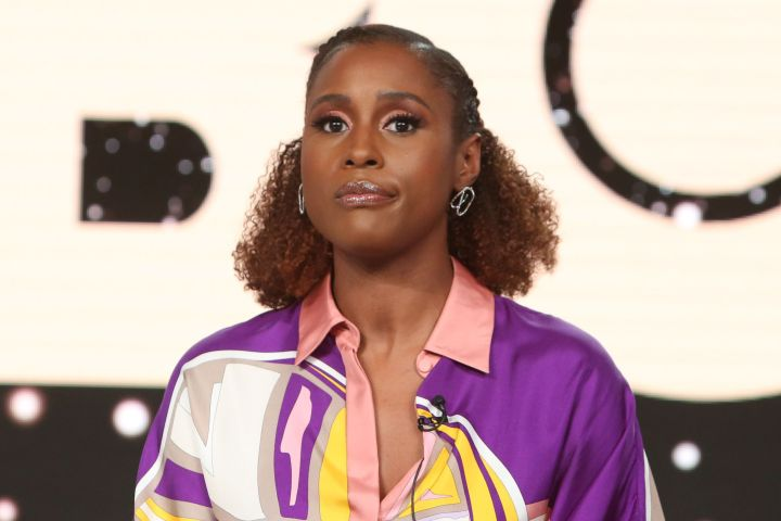 Mandatory Credit: Photo by David Buchan/Variety/Shutterstock (10527406am) Issa Rae 'Insecure' TV show, Warner Bros, TCA Winter Press Tour, Panels, Los Angeles, USA - 15 Jan 2020