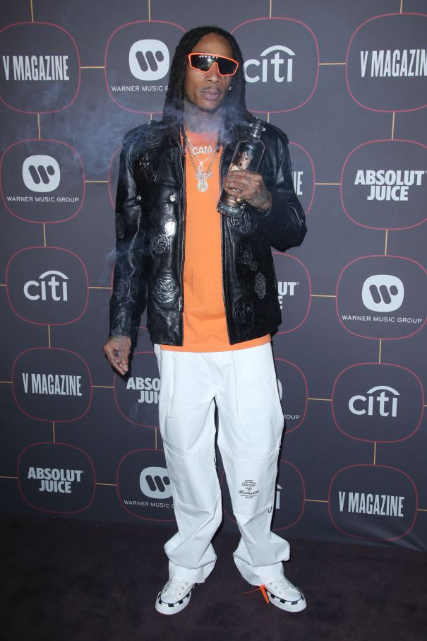 Wiz Khalifa Keeps It Cool