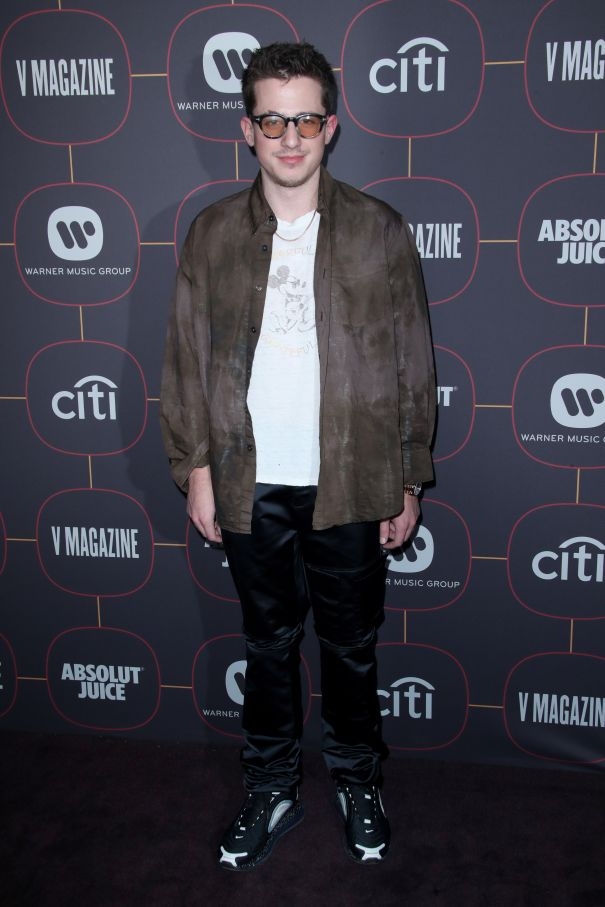Charlie Puth Steps Out