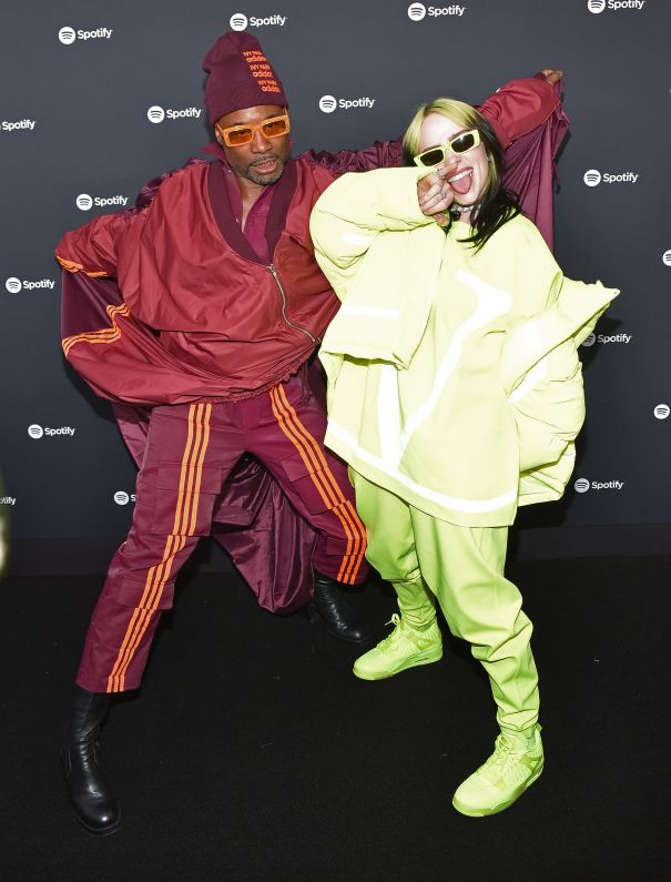 Billy Porter and Billie Eilish Throw Some Shade