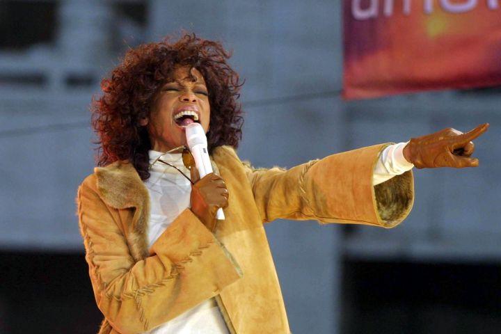 Whitney Houston. Photo: Erik Pendzich/Shutterstock