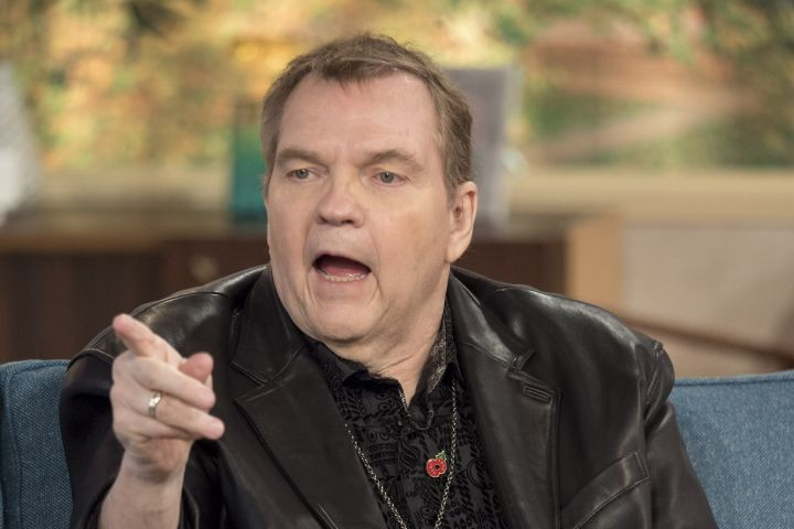 Meat Loaf. Photo: Ken McKay/ITV/Shutterstock