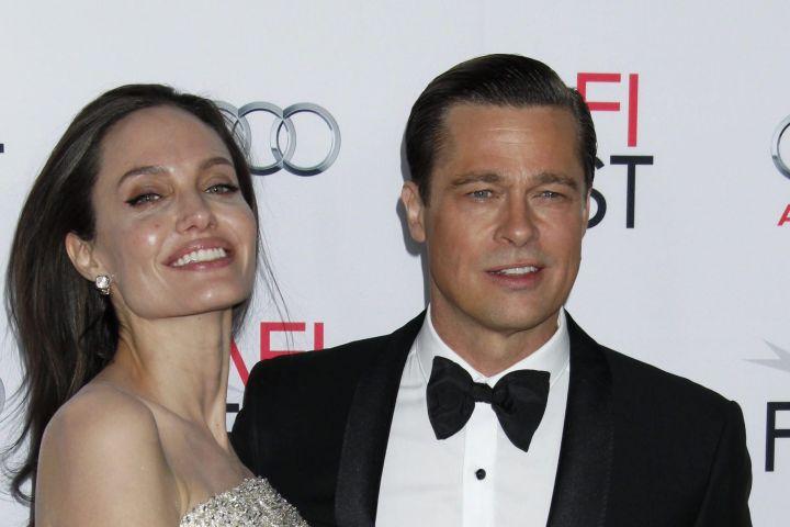 Angelina Jolie and Brad Pitt - Jimmy Morris/EPA/Shutterstock