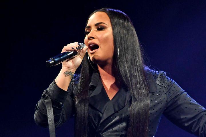 Demi Lovato. Photo: Larry Marano/Shutterstock