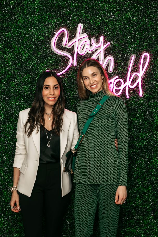 Whitney Port Joins Zoe Lev At Studio Opening