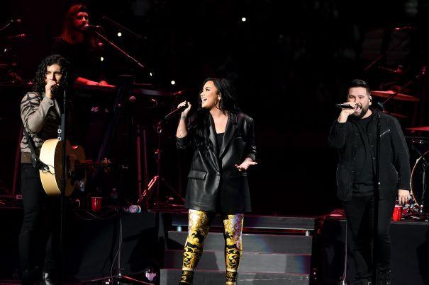 Demi Lovato Joins Dan + Shay
