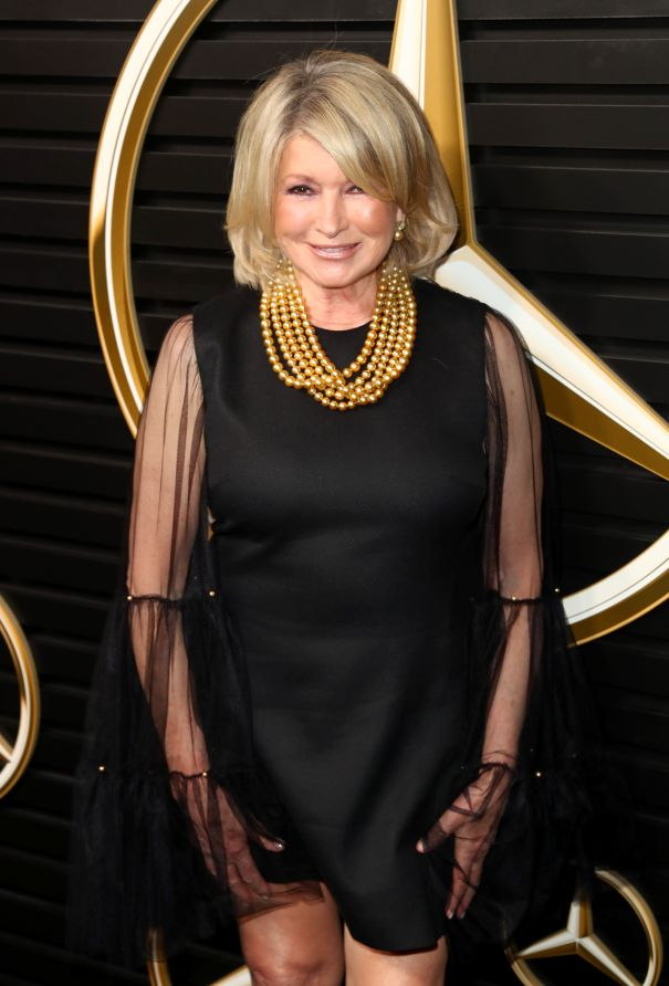 Martha Stewart Is Sheer Excellence