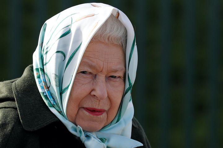 Queen Elizabeth. Photo: Adrian Dennis/Pool via REUTERS