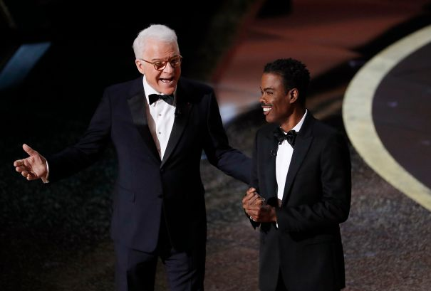 Steve Martin And Chris Rock Bring The Comedy