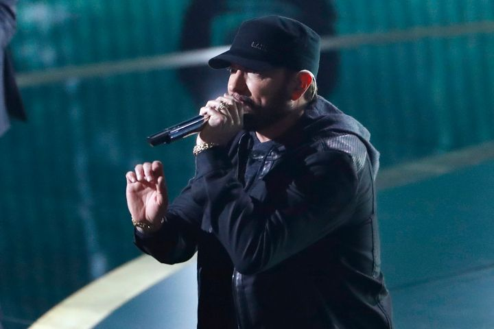 Eminem. Photo: REUTERS/Mario Anzuoni