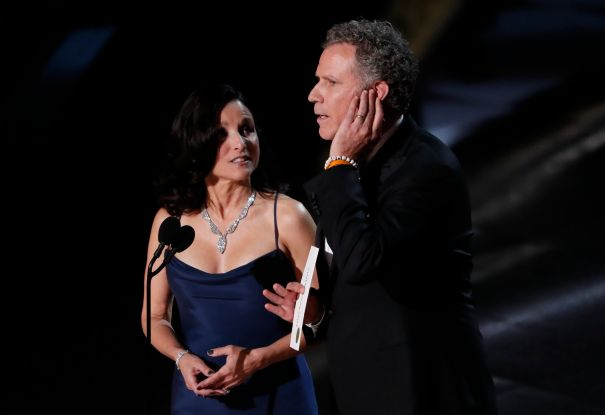 Julia Louis-Dreyfus And Will Ferrell