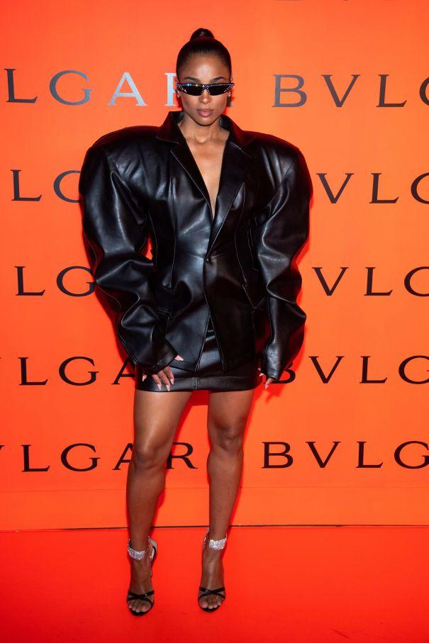Ciara's Bold Black Look