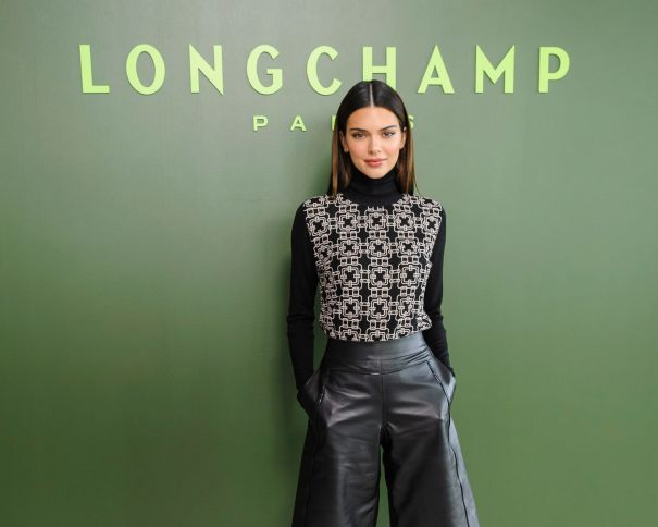 Kendall Jenner At Longchamp