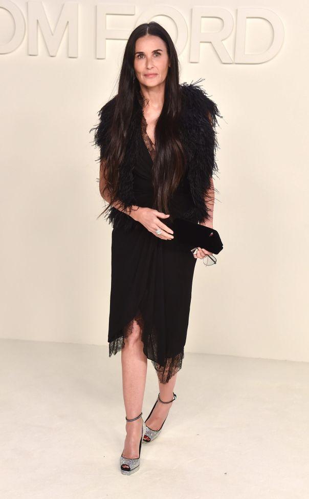 Demi Moore Classic In Black