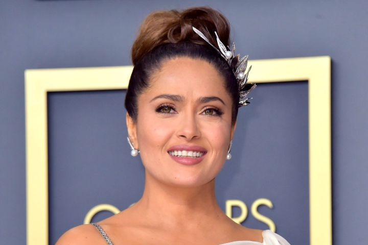 Salma Hayek. Photo: Dave Starbuck/Geisler-Fotopress/DPA via ZUMA Press