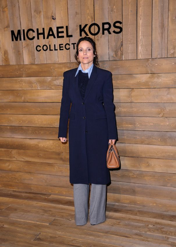 Julia Louis-Dreyfus At NYFW