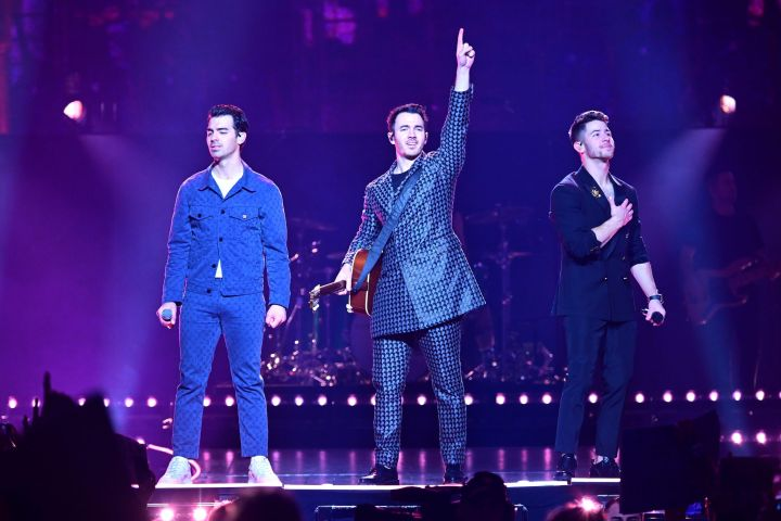 The Jonas Brothers. Photo: EPA/VICTOR LERENA