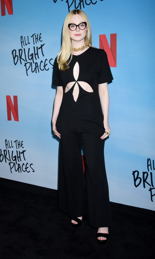 Elle Fanning Is Sweet And Sophisticated
