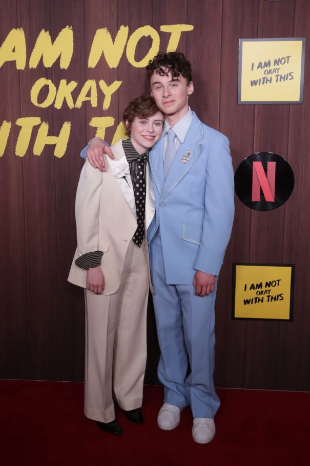 Sophia Lillis Rocks A Sophisticated Suit