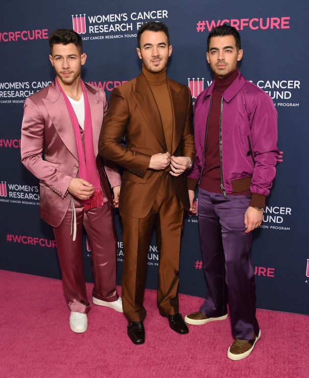 Jonas Brothers Bold In Bright Colours