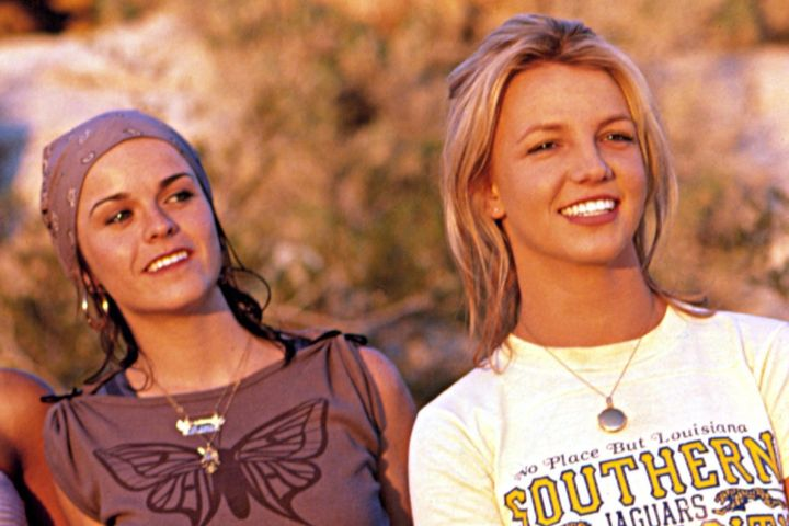 Taryn Manning, Britney Spears, 2002 (c) Columbia/courtesy Everett Collection/CPImages