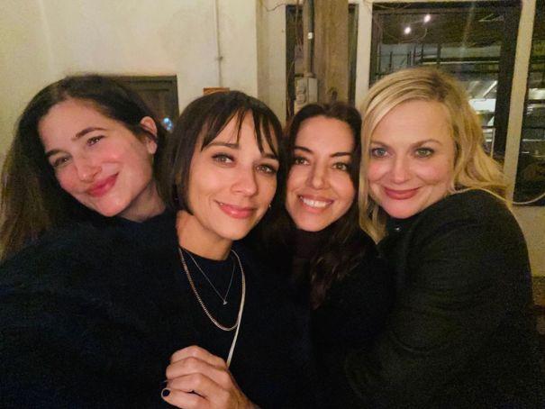 Kathryn Hahn, Rashida Jones, Aubrey Plaza + Amy Poehler