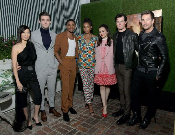 'Hollywood' Cast Attend Netflix Hollywood Tastemaker