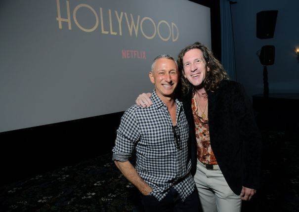 Adam Shankman & Ian Brennan Have A Blast At 'Hollywood' Event
