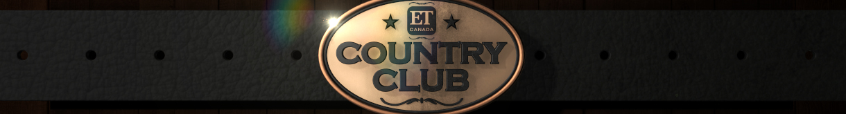Country Club banner